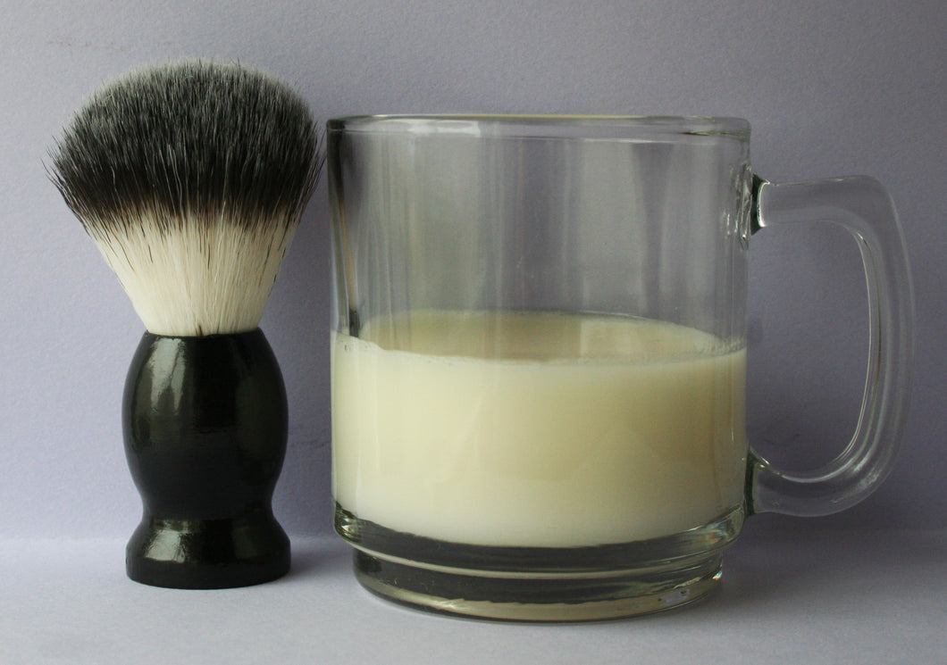 Shea butter shave soap set