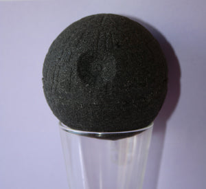 Charcoal Death Star Bath Bomb