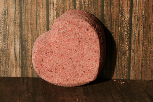 Sensual Red Heart Bath Bomb