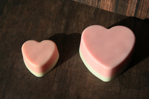 Strawberries and Cream Valentine's Day Soap