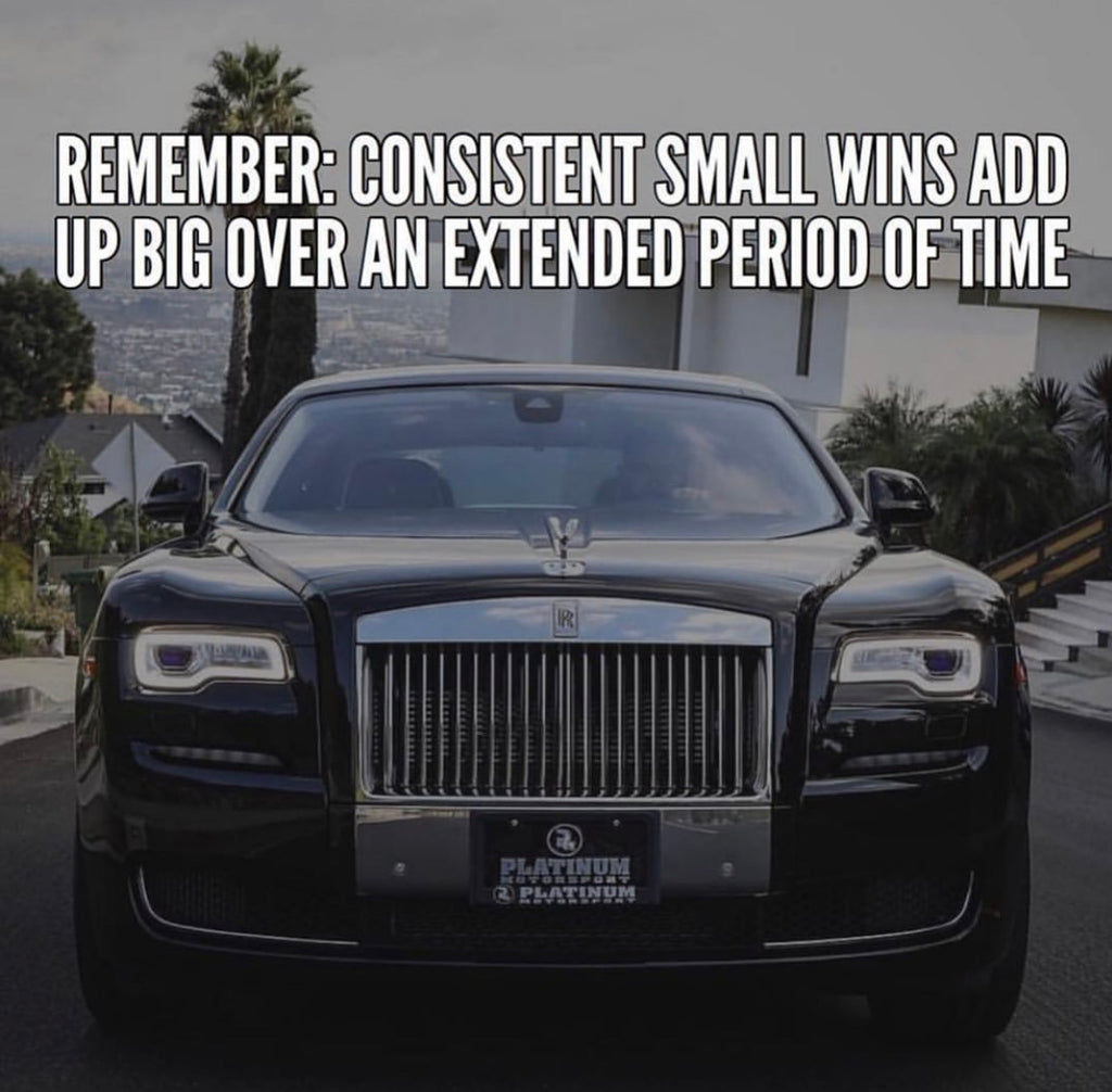 Consistency is like Compound Interest Over Time
