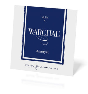 Warchal Ametyst Violin String Set with Ball end E string