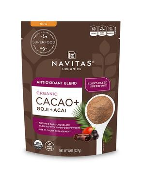 Navitas Naturals, Superfood Blend Antioxidant Cacao Goji Organic, 8 Ounce