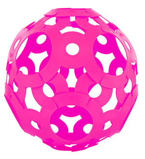 FOOOTY BALL - PINK - the Any Shape Ball that You Choose. (Available in Black, Red, Pink and Glow in the Dark colors)