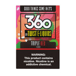 Triple Red by 360 Twist E-Liquids 180ml (3x60ml)