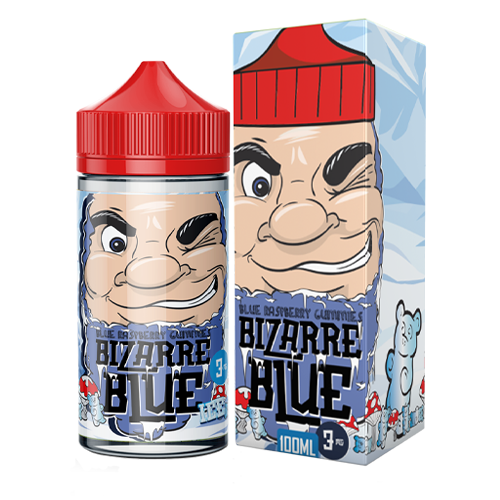 Blue Raspberry Gummies by Bizzare Blue Ice 100ml