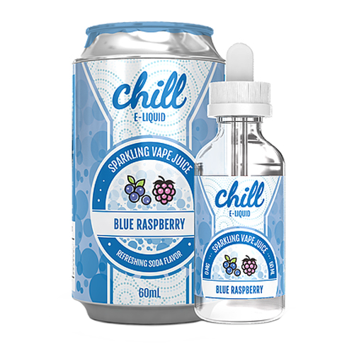 Blue Raspberry by Chill E-Liquid 60ml