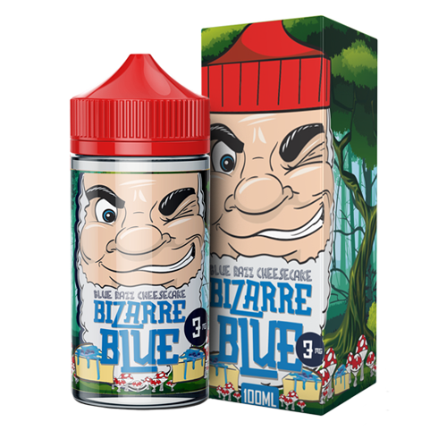 Blue Raspberry Cheesecake by Bizzare Blue 100ml
