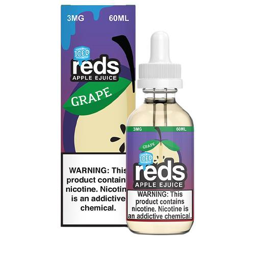 Iced Grape Apple by Reds Apple Ejuice 60ml