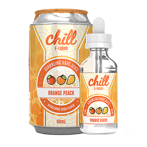 Orange Peach by Chill E-Liquid 60ml