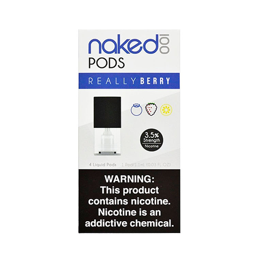 Really Berry - Pack of 4 Pods by Naked 100 Pod System
