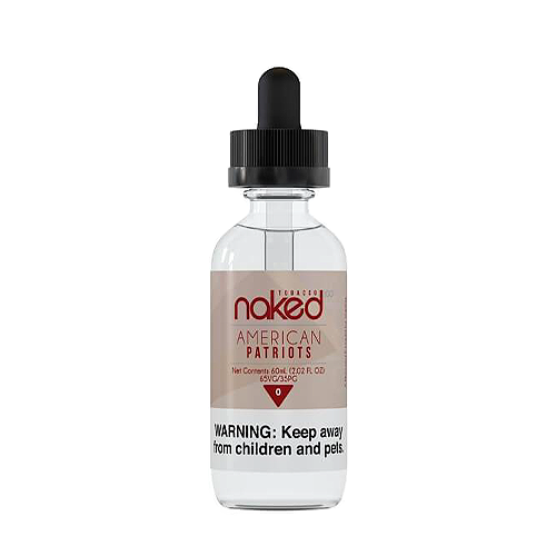 American Patriots by Naked 100 Tobacco 60ml