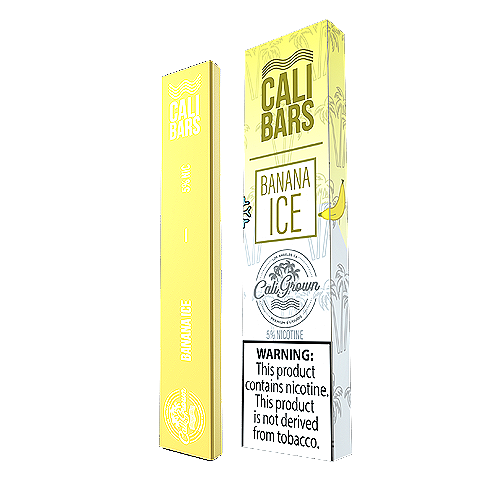 Banana Ice Disposable Pod by Cali Bars