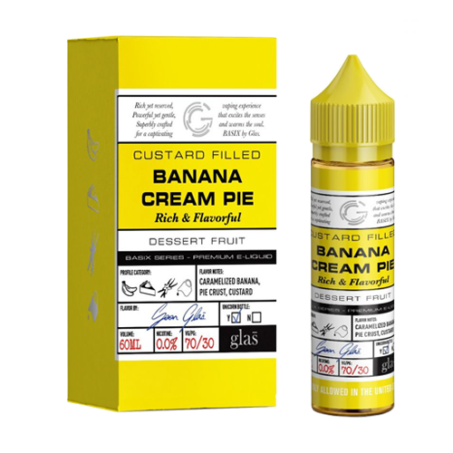 Banana Cream Pie by Glas Basix Series 60ml