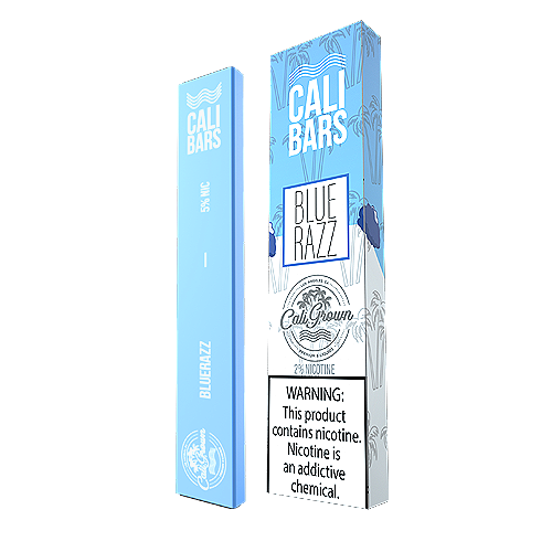 Blue Razz Disposable Pod by Cali Bars