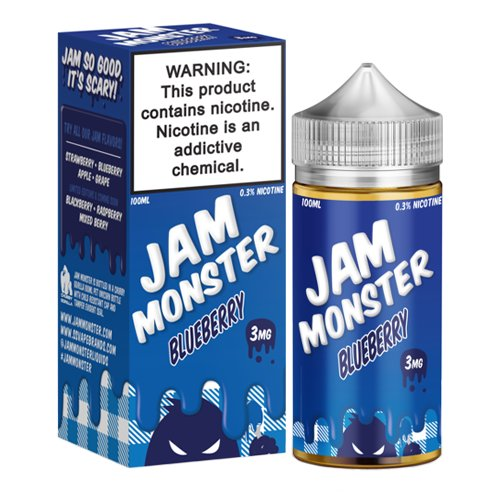 Blueberry by Jam Monster 100ml