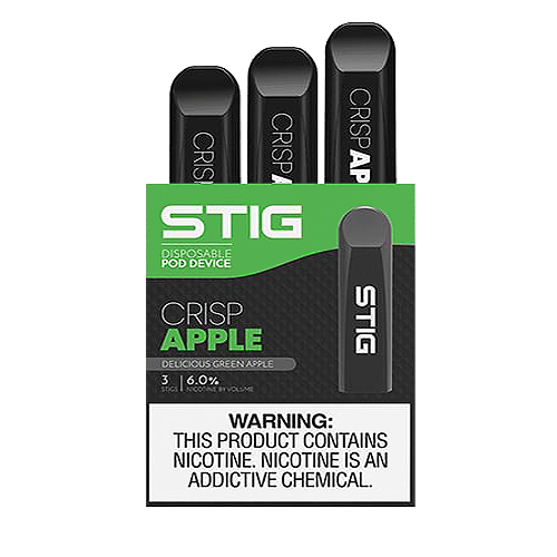 Crisp Apple Disposable Pod - Pack of 3 by VGOD STIG