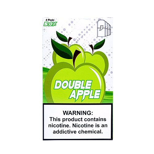 Double Apple - Pack of 4 Juul Compatible Pods by SKOL