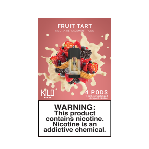 Fruit Tart - Pack of 4 Pods by Kilo 1K