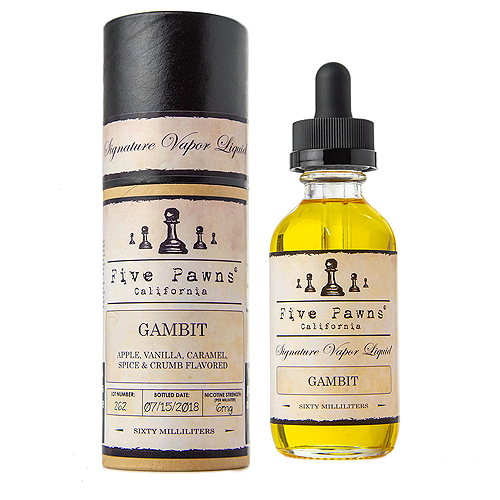 Gambit by Five Pawns 60ml