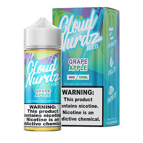 Grape Apple Iced by Cloud Nurdz 100ml