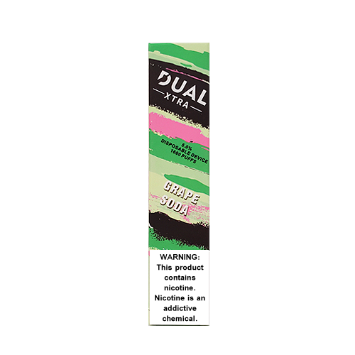 Grape Soda Disposable Pod (1600 Puffs) by Dual Xtra