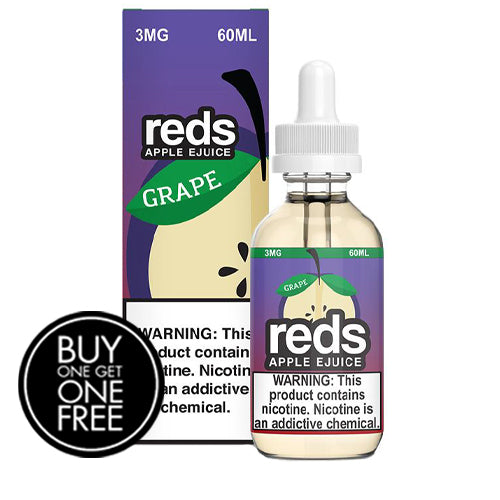 *BOGO* Grape Apple by Reds Apple Ejuice 60ml