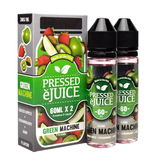 Green Machine by Pressed eJuice 120ml (2x60ml)