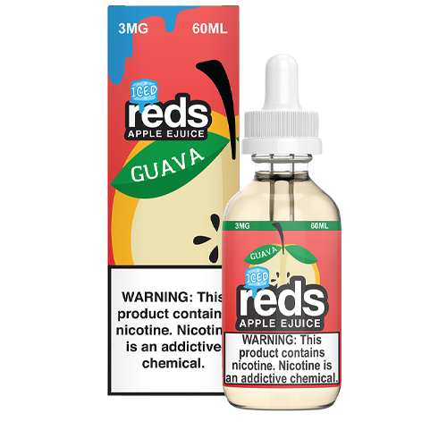 Iced Guava Apple by Reds Apple Ejuice 60ml