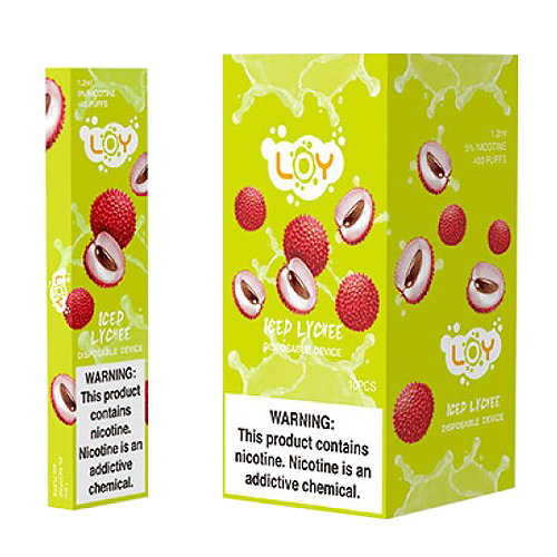 Iced Lychee Disposable Pod by LOY