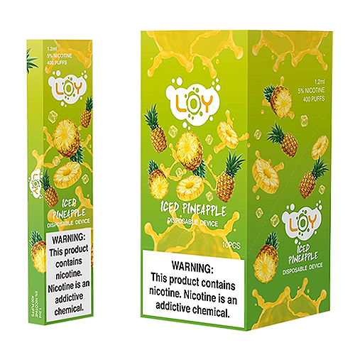 Iced Pineapple Disposable Pod by LOY