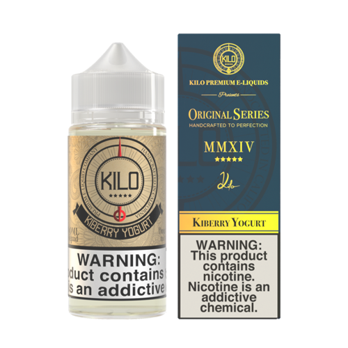 Kiberry Yogurt by Kilo Original Series 100ml