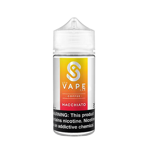 Macchiato by USA Vape Lab Coffee 100ml