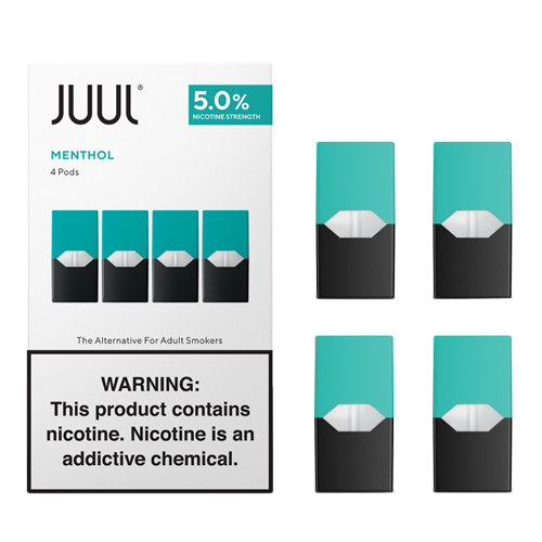 Menthol - Pack of 4 Pods by Juul