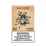 Milk Coffee - Pack of 4 Pods by Kilo 1K