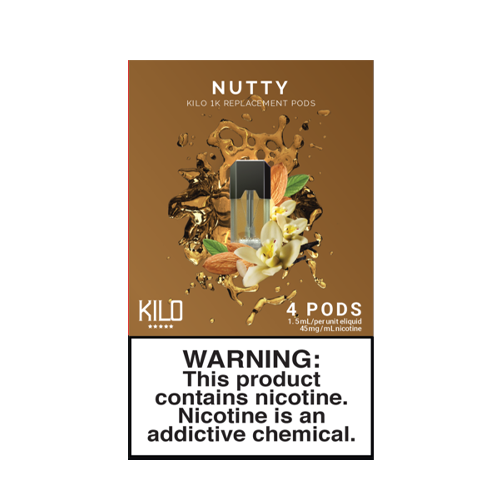 Nutty - Pack of 4 Pods by Kilo 1K