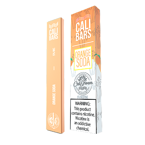 Orange Soda Disposable Pod by Cali Bars