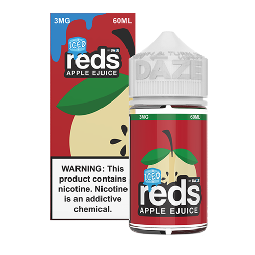Iced Apple by Reds Apple Ejuice 60ml