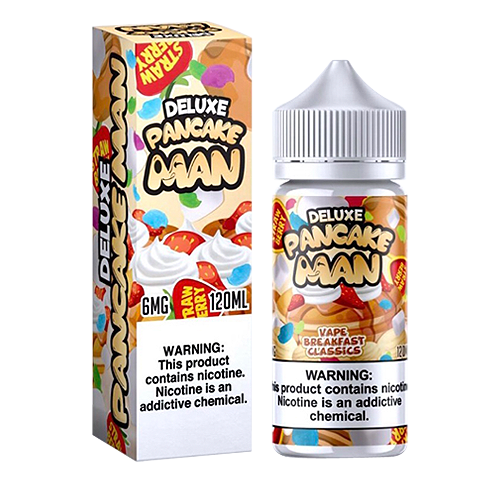 Pancake Man Deluxe by (Tasty Flavors) Vape Breakfast Classics 120ml