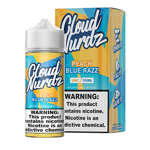 Peach Blue Razz by Cloud Nurdz 100ml