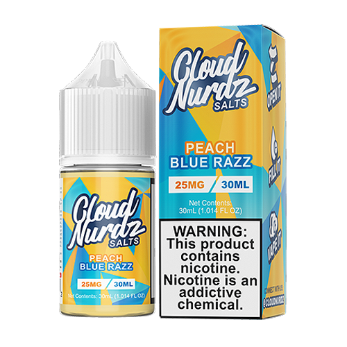 Peach Blue Razz by Cloud Nurdz Salts 30ml