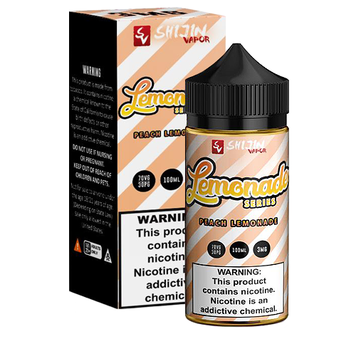 Peach Lemonade by Vape Maid 100ml