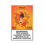 Peach - Pack of 4 Pods by Kilo 1K