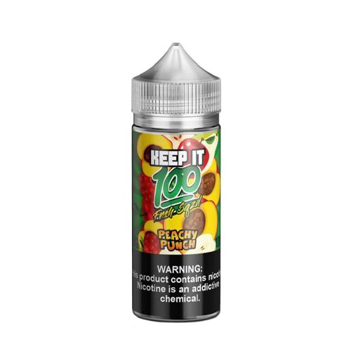 Peachy Punch by Keep It 100 100ml