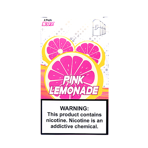 Pink Lemonade - Pack of 4 Juul Compatible Pods by SKOL