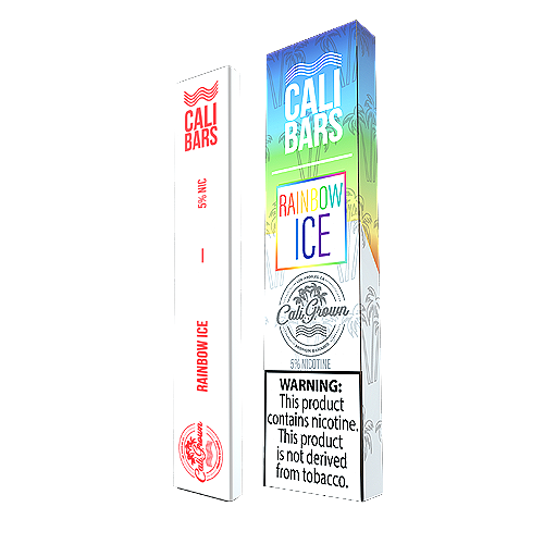 Rainbow Ice Disposable Pod by Cali Bars