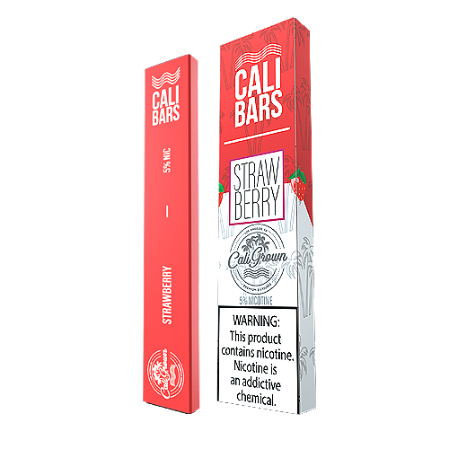 Strawberry Disposable Pod by Cali Bars