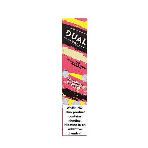 Strawberry Banana Ice Disposable Pod (1600 Puffs) by Dual Xtra