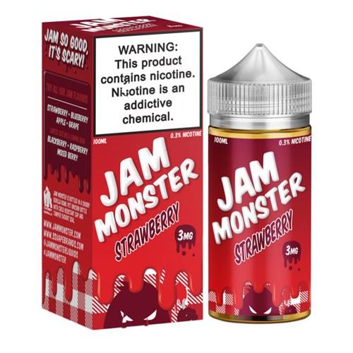 Strawberry by Jam Monster 100ml