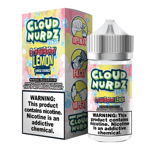 Strawberry Lemon Iced by Cloud Nurdz 100ml